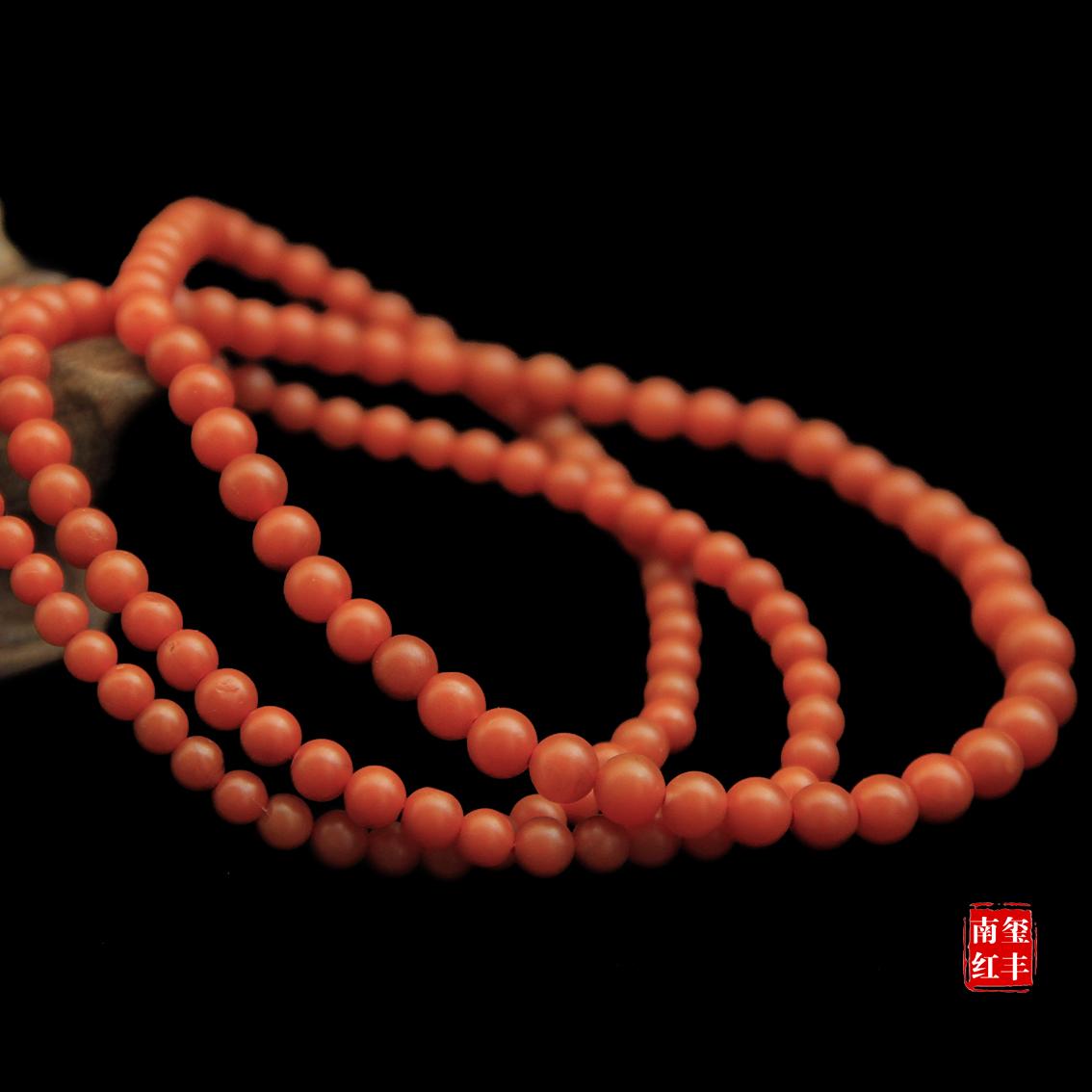 南红玛瑙极品哑光手链