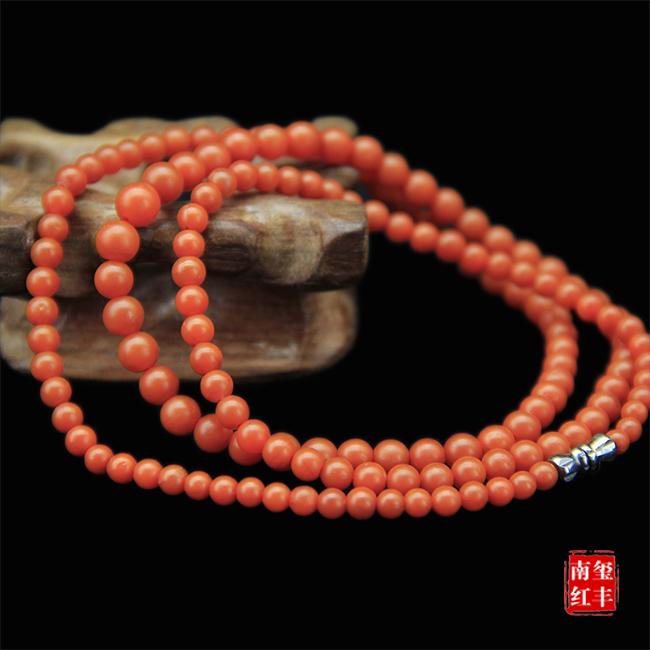 南红玛瑙精品亮光平珠项链/手链